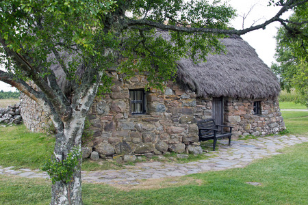 Schottland, Culloden, Old Leanach Cottage photo