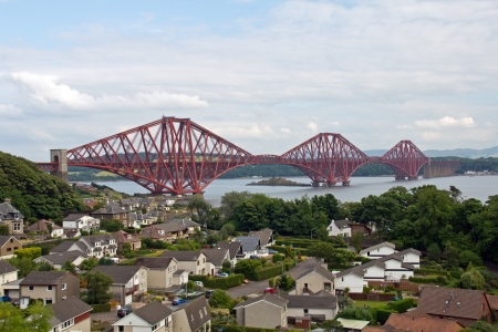 Schottland, North Queensferry, Forth Railway Bridge photo