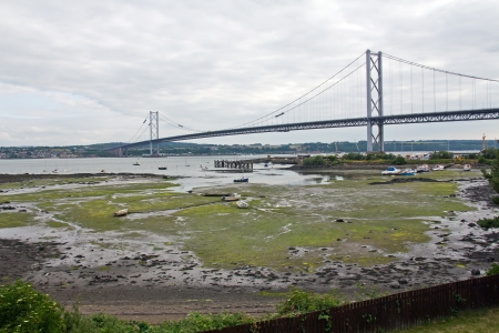 Schottland, North Queensferry, Forth Road Bridge photo