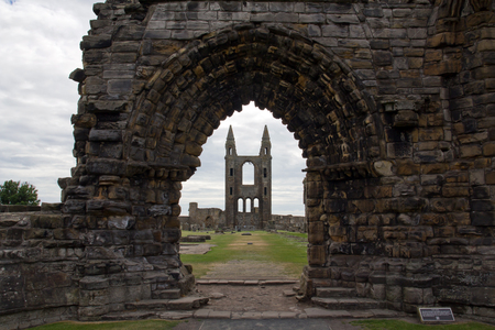 andrews: Schottland, St  Andrews Cathedral Stock Photo