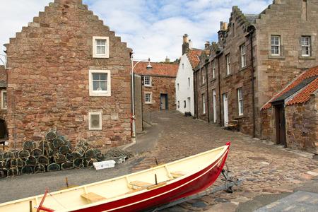 ferien: Schottland, Crail, Fischerdorf Stock Photo