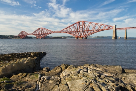 Schottland, South Queensferry, Forth Railway Bridge photo