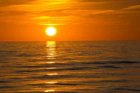 myers: Fort Myers Beach, Sonnenuntergang