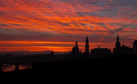 Dresden, Sunrise
