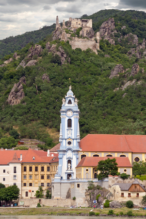 the abbey: Duernstein Abbey