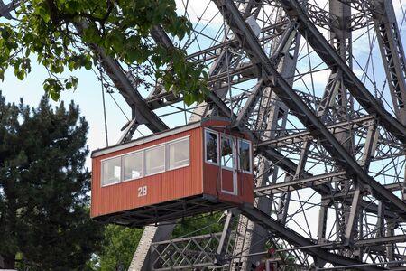 prater: Vienna, Prater, Giant Wheel Stock Photo