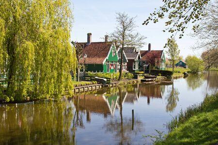 Netherlands, Zaanse Schans, countryside Stock Photo