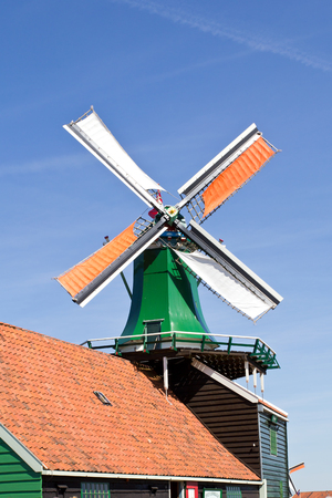Netherlands, Zaanse Schans, windmill