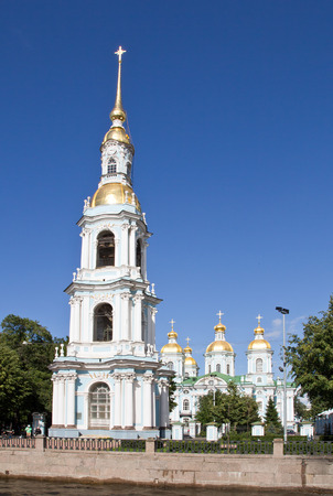 Russia, St. Petersburg, St. Nicholas Cathedral