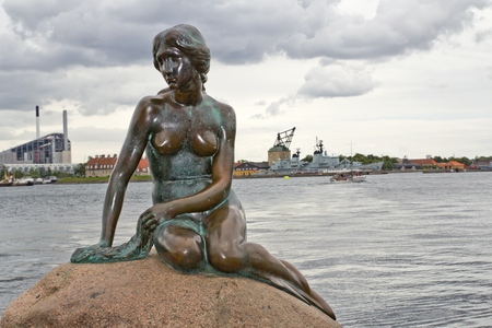 effigy: Denmark, Copenhagen, Little Mermaid