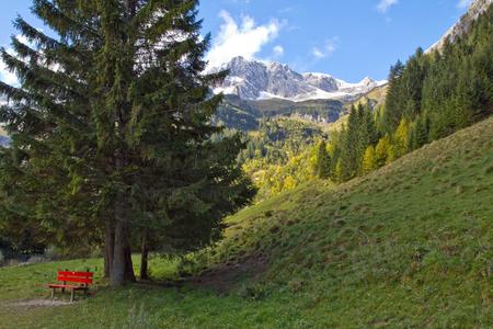 Austria, Tannheim, near Lake Vilsalp