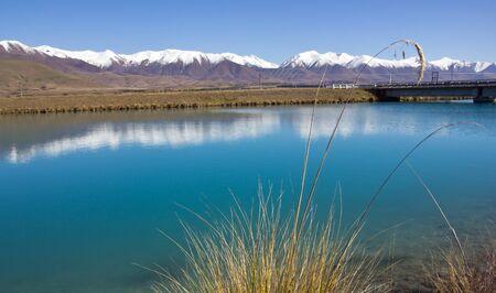aotearoa: New Zealand, Lake near Twizel