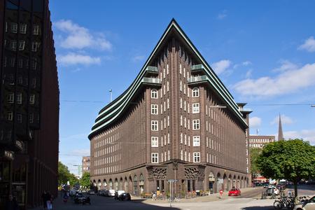 Germany, Hamburg, Chile House Stock Photo