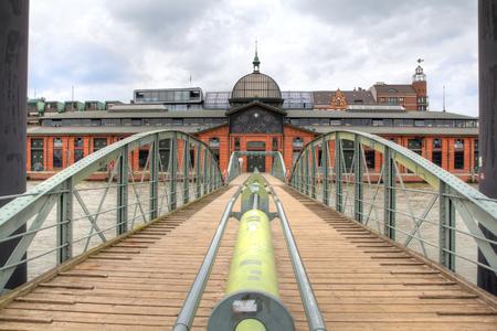 Germany, Hamburg, Fishmarket Hall