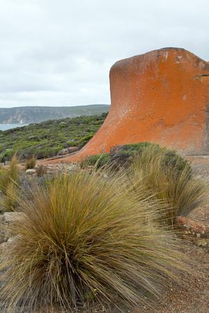 Australia, Kangaroo Island, Remarkable Rocks Stock Photo