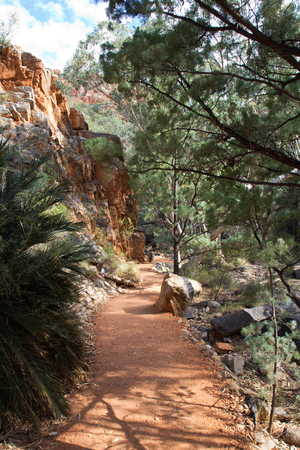 Australia, Standley Chasm, West Mac Donnell National Park Archivio Fotografico