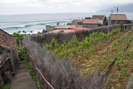 Madeira, village and coastline near Seixal
