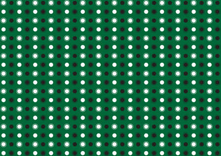 green background: Abstract dot on green background