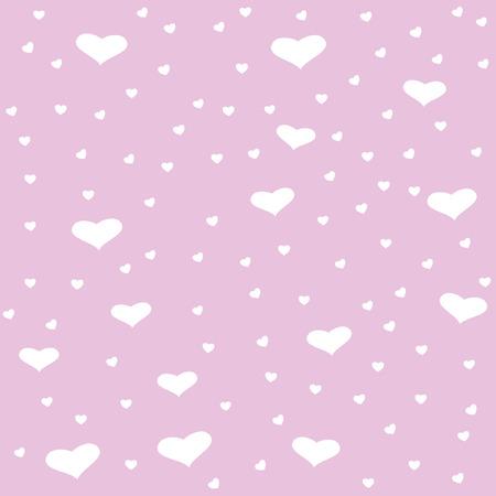 pink hearts: Seamless pink hearts