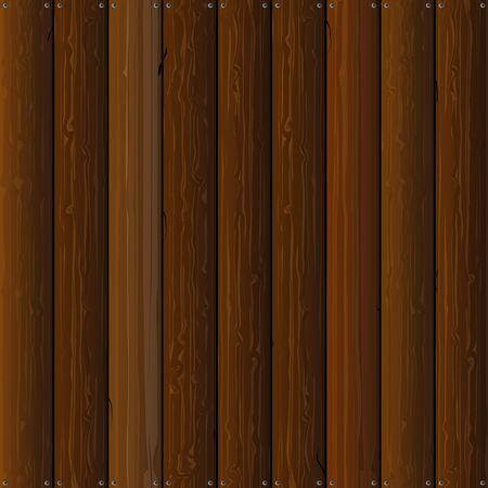timbered: Wooden background vector