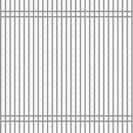 prison facility: Jail bars vector illustration