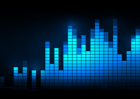 analyzer: Sound wave vector illustration