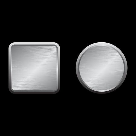 metallic: Metallic buttons