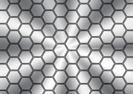 stainless: Abstract polygon stainless texture