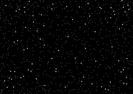 Space and star background vector illustration Illustration