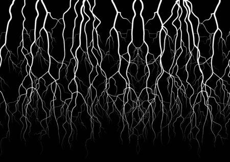 forked: Lightning vector object