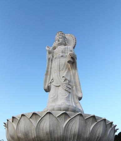 Statue of Female Chinese God photo
