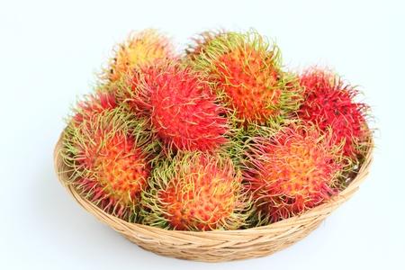 Tropical fruit, rambutan  photo