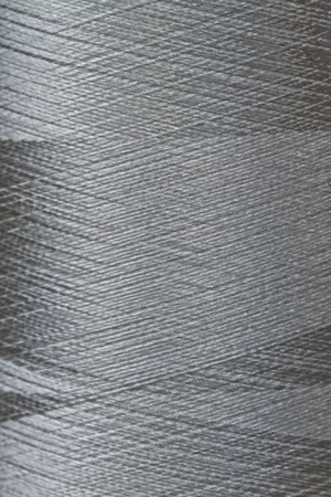 texture of grey thread in spool Stock Photo - 10255196