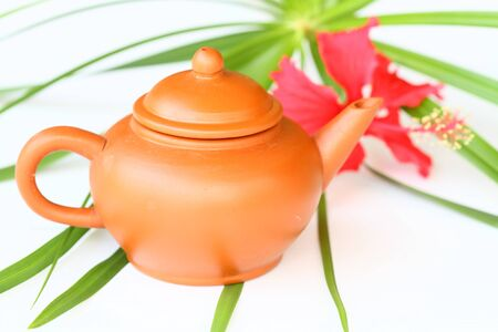 traditional Chinese ceramic teapot photo