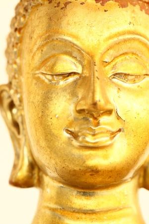 Golden Buddha Face Stock Photo - 10520251