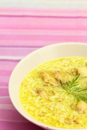 rice soup Stock Photo