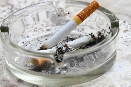 ashtray  and cigarettes  Stock Photo - 11092560