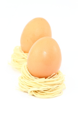 noodle and egg