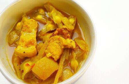 oleifera: grilled pork in curry