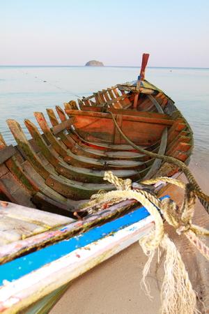 derelict: Derelict fishing boat