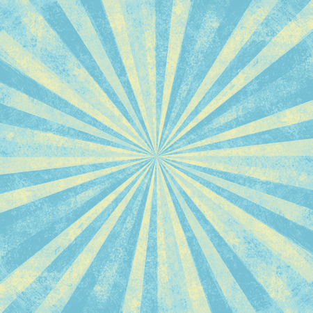 radiate: sun ray grunge background Stock Photo