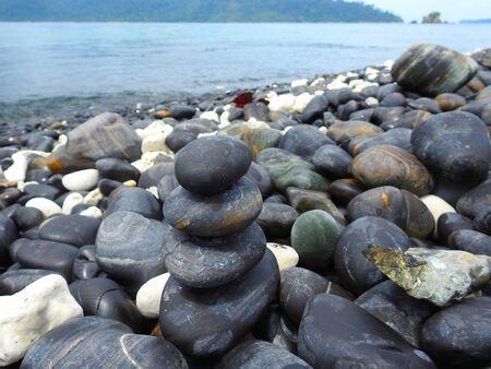 andaman sea: Pebbles beach, Koh Hin Ngam, Andaman Sea, Thailand