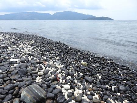 Pebbles beach, Koh Hin Ngam, Andaman Sea, Thailand