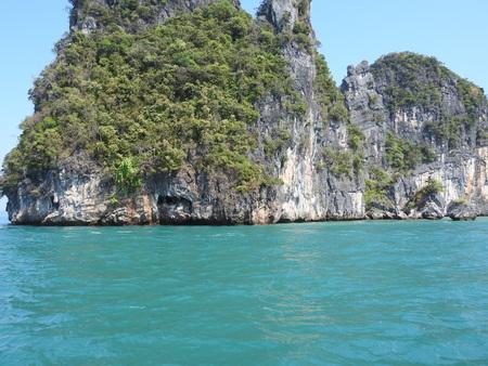 Limestone Island - Phang Nga Bay, Thailand