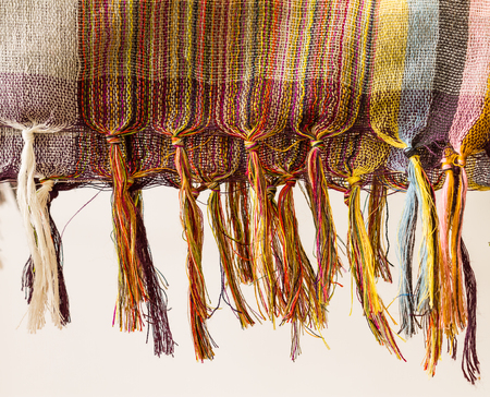 hand woven: Pattern of fabric
