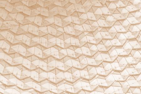 interlocking: Zigzag interlocking of coconut leaves use for  background