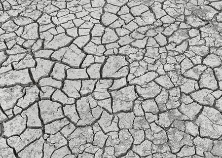 splitting up: Cracked earth background