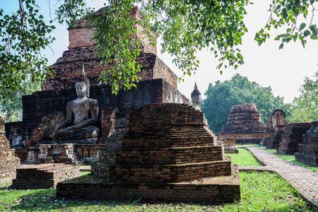 sukhothai: Wat Mahathat Sukhothai Historical Park ,Sukhothai ,Thailand Stock Photo