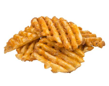 French Fries Waffle Cut