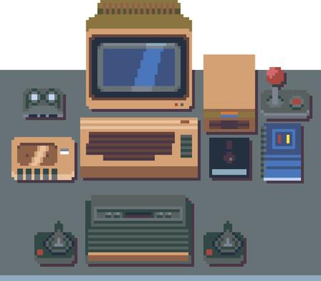 bits: 8-bit computers and consoles in pixel art